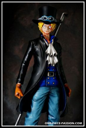 FIGURINE PRODER ONE PIECE SABO REPEINTE-001