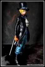 FIGURINE PRODER ONE PIECE SABO REPEINTE-003