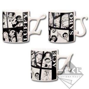 Ichibankuji One Piece Hot Bond G Prize mug of an oath