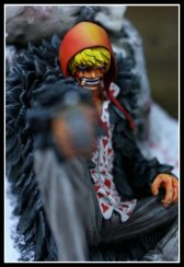 one piece diorama corazon rossinante rosinante