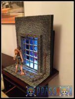 diorama one piece jimbei ace impel down -009
