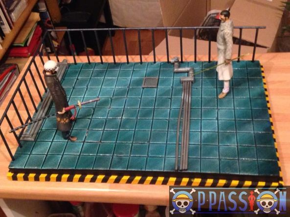 one piece diorama vergo VS Law-002