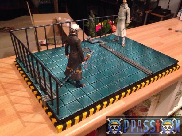 one piece diorama vergo VS Law