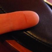coupure doigt katana