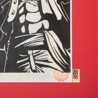 Des gravures en bois One Piece 03