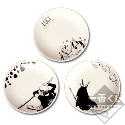 Ichibankuji One Piece Battle of Colosseum G Prize picture plate