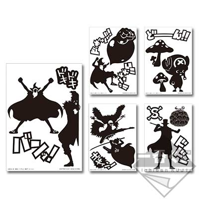 Ichibankuji One Piece Battle of Colosseum J Prize sticker