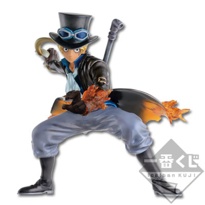 Ichibankuji One Piece Dressrosa Battle Last One Prize Sabo figure special ver
