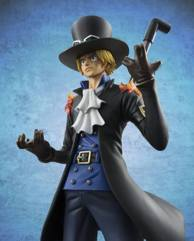 one peice figure POP figutrine sabo portrait of pirate-006