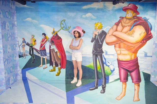 One Piece D Exhibition Hong Kong : Insolite un musée one piece en d à hong kong