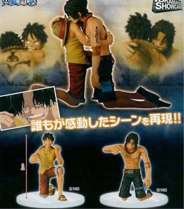 ace luffy marineford dramatics showcase vol 5 2015