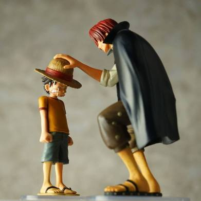 banpresto dramatic showcase shanks luffy 00