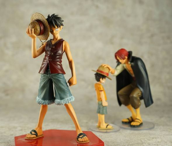 banpresto dramatic showcase shanks luffy 08