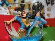 Diorama Figuart zero Law Luffy par Bandai 01