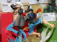 Diorama Figuart zero Law Luffy par Bandai 05