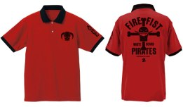 ONE PIECE - Ace of Fire Fist Polo Shirt