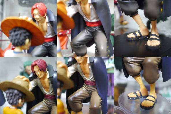 BANPRESTO ICHIBAN KUJI DRAMATICS SHOWCASE SHANKS YOUNG LUFFY-001