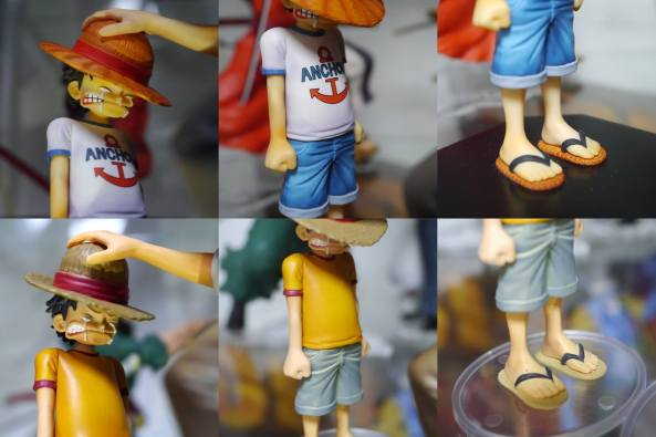 BANPRESTO ICHIBAN KUJI DRAMATICS SHOWCASE SHANKS YOUNG LUFFY-002