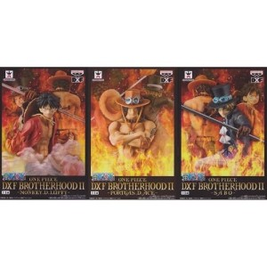 ONE PIECE DFX BROTHERHOOD II - SET OF 3