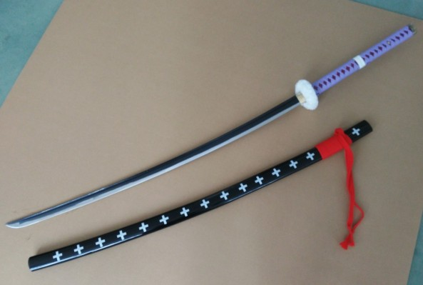 one piece law katana sword