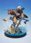 Figuarts ZERO One Piece Monkey D. Luffy & Trafalgar Law -5th Anniversary Edition