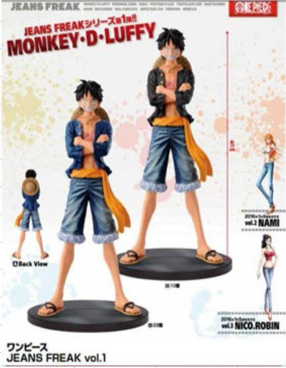 figure jeans luffy