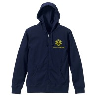 One Piece Heart Pirates LAW Parka Navy 02