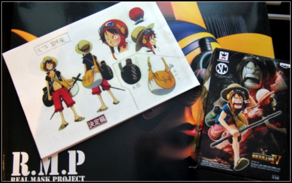 one piece figure sculture art 5 banpresto luffy-001