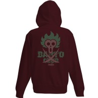 One Piece Bartolomeo Zippered Parka BURGUNDY