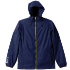 One Piece Revolutionary Army Sabo Hooded Windbreaker NAVY x YELLOW 01