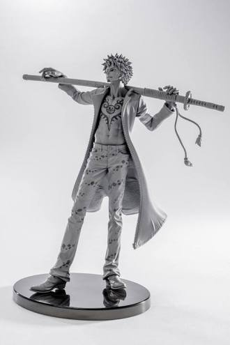 sculture art banpresto one piece 2016 law-010
