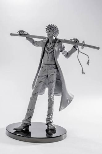 sculture art banpresto one piece 2016 law-010