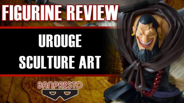 banpresto, urouge, sculture art, one piece passion, figurine review