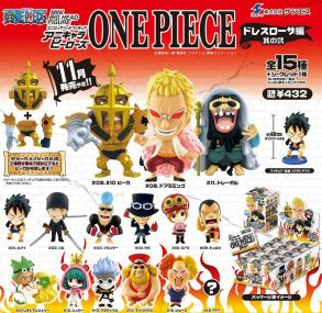 banpresto mini big head figure