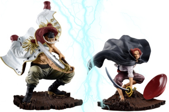 Barbe-Blanche-Vs-Thanks, banpresto, ichiban kuji