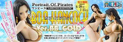 boa BB gold, megahouse, one piece film gold