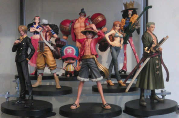one piece passion, collection des nakamas
