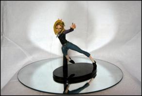 figurine dragon ball c18 sculture art banpresto 2016-001