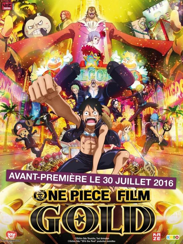 One-Pièce-Affiche, film gold, france, avant première