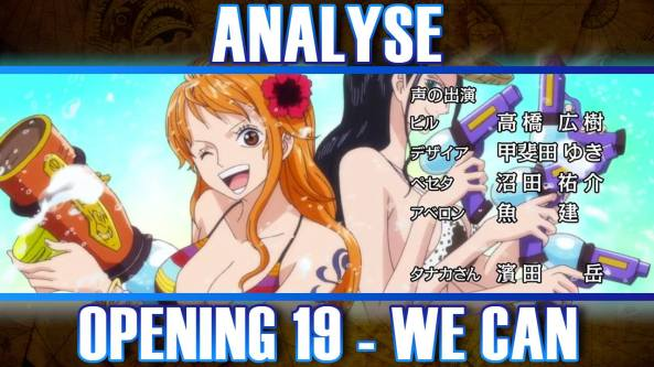 one piece opening 19
