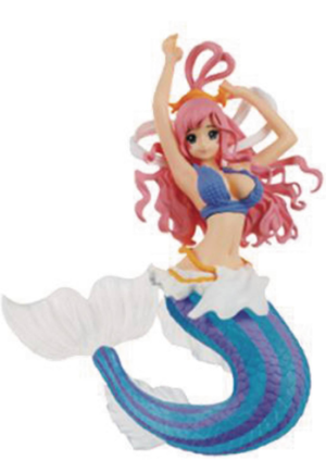 banpresto, creator x creator, shirahoshi, special version, blue, ninoma, one piece passion