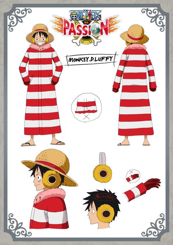 Settei Luffy Punk Hazard
