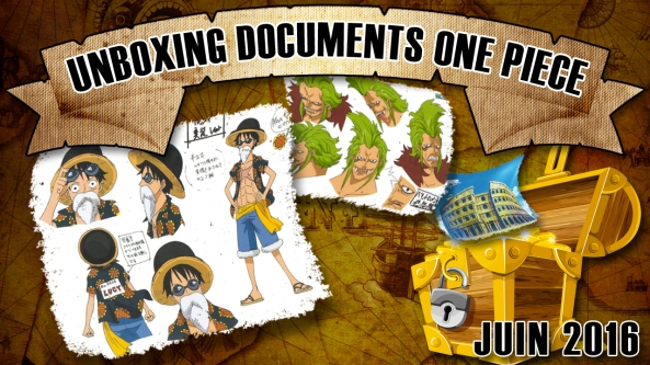 One Piece, settei, unboxing, documents one piece