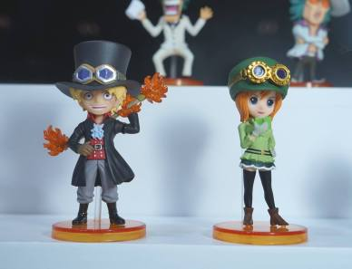 banpresto wcf film gold vol 3 & 4