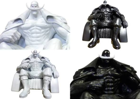 bandai barbe blanche collection 1