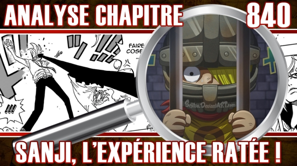 one piece chapitre 840 analyse