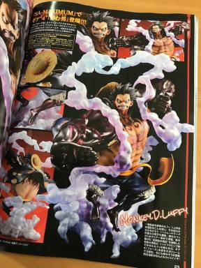 megahouse pop luffy gear 4
