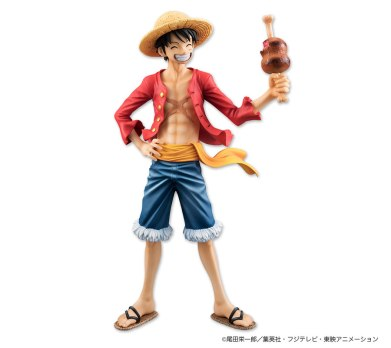 mh pop luffy 20th anniversary